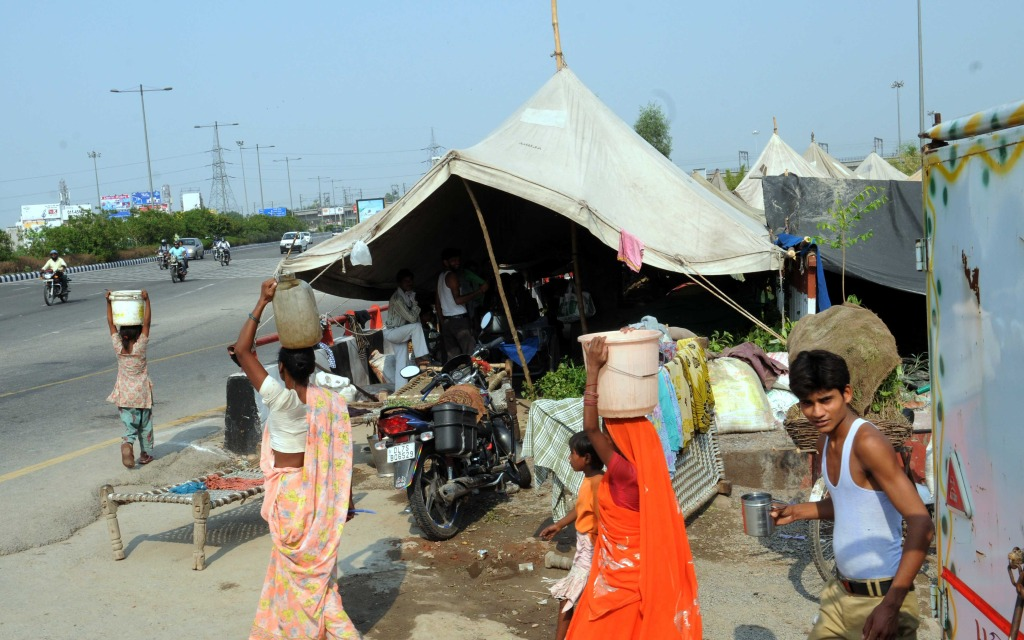 Flood Relief Camp Photo By Ravi Batra