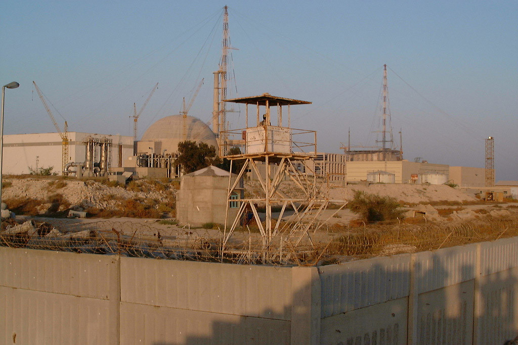 The Busher nuclear power plant in Iran. Photo: IAEA/Paolo Contri